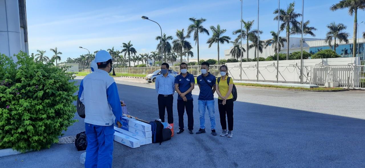 Dán Phim cách nhiệt suntech tại KCN_Mỹ Hào Hưng Yên
